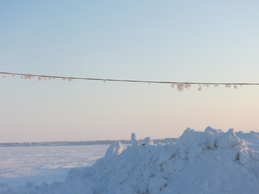 Arctic Line : Arctic scenery out of ice and time