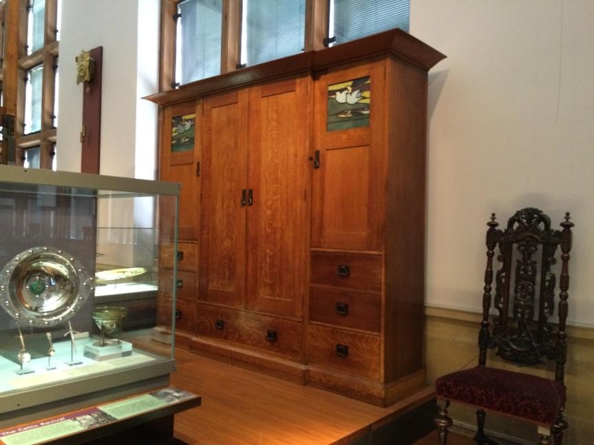 Charles Rennie Mackintosh cabinet