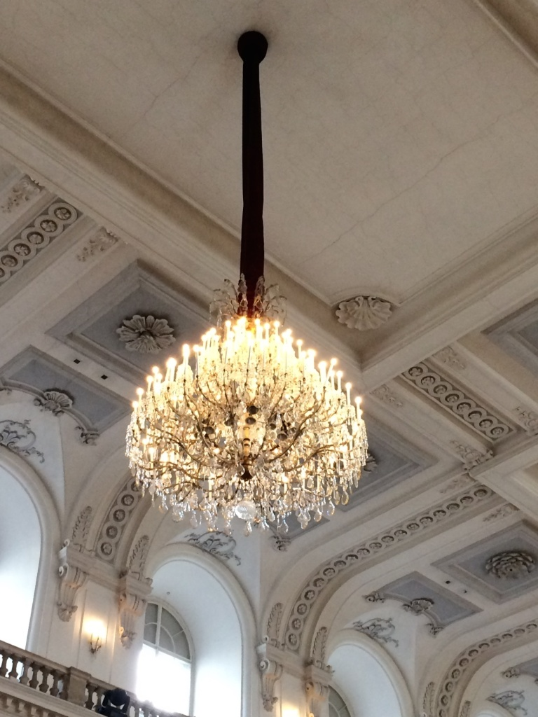 Chandelier at the Winter Riding School.